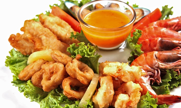 Fish Place TX5 - Multiple Locations: Cajun-Style Seafood at Fish Place TX5. (Up to 43% Off). Two Options Available.