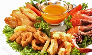 Fish Place: Cajun-Style Seafood at Fish Place. (Up to 54% Off). Two Options Available.