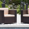 Westlake Outdoor Sofa Club Chairs (Set of 2)