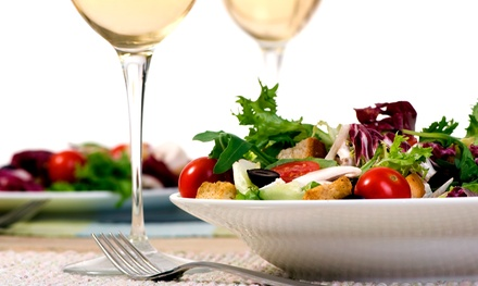 $65 for a Four-Course Prix Fixe Dinner for Two with Wine at The Cork House Wine Restaurant ($126 Value)