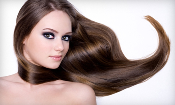 Imagine Salon - Lower Beaver: All-Over Color or Partial Highlights at Imagine Salon (Up to 67% Off)