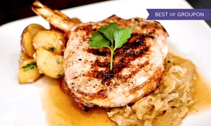Sorrel Restaurant / Bistro: Lunch or Dinner for Two at Sorrel Restaurant / Bistro (Up to 42% Off)
