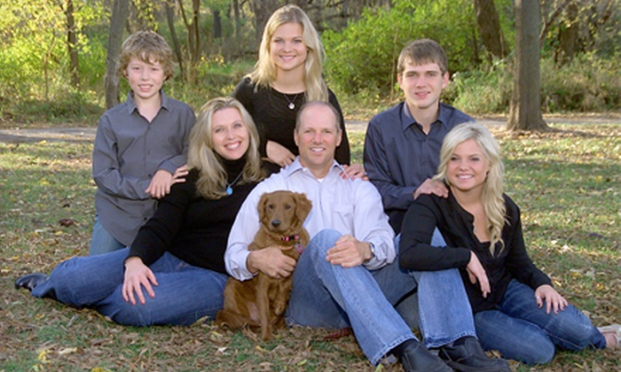 Dodgen Photography - Clive: $38 for a Studio or On-Location Senior, Family, or Pet Photo Shoot with Prints from Dodgen Photography ($375 Value)