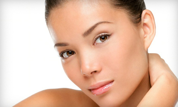 Esthetique - Salonz Beauty Suites: One, Two, or Six Chemical Peels and Microdermabrasions with Optional Photodynamic Therapy at Esthetique (Up to 94% Off)