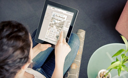 "$25 for a 12-Month Online Subscription to ""St. Catharines Standard"" ($54.10 Value)"
