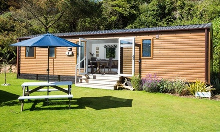Cornwall: 2 to 7Night Summer House Stay for Four People with Cream Tea at The Park, Cornwall