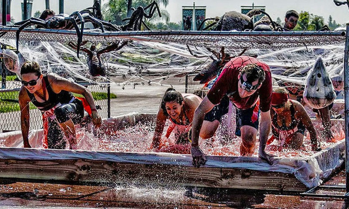 Zombie Blood Run - Hollywood sports: VIP Registration for Zombie Blood Run on Saturday, August 30 (Up to 73% Off). Twenty-Seven Time Slots Available.