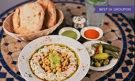 Up to 45% Off Middle Eastern Fare at Hummus Place