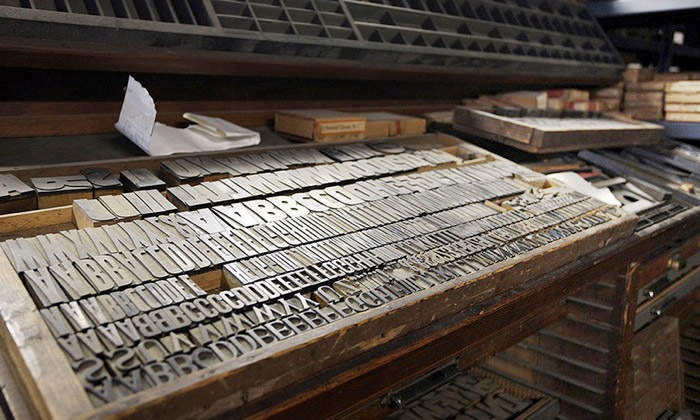 Letterpress Printing Class - Brooklyn Navy Yard Center: Design Posters with a Professional Letterpress Printer