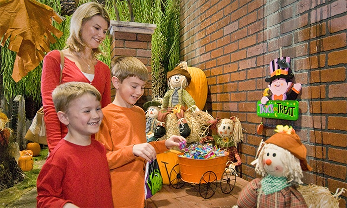 EnterTRAINment Junction - EnterTRAINment, Inc.: Halloween-Themed Model-Train Event for Two or Four at EnterTrainment Junction (Up to 40% Off)