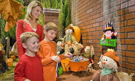 Halloween-Themed Model-Train Event for Two or Four at EnterTrainment Junction (Up to 40% Off)