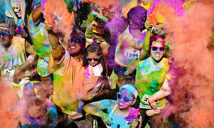 Color Me Rad - Bonner - Loring: $25 for Entry to Color Me Rad 5K Run in Kansas City on April 13 at Cricket Wireless Amphitheater (Up to $50 Value)