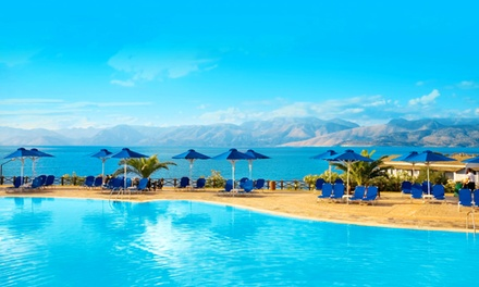 ✈ Corfu: Up to 7 Nights with Flights and All-Inclusive Stay at the 4* Mareblue Beach Resort*