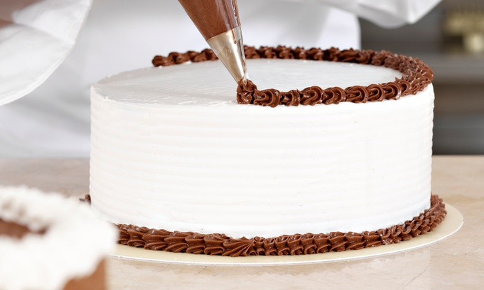 CakeShopUSA - Marietta: 6-Inch Two-Layer Round Cake and 36 Cupcakes or Two-Tier Double-Layer Cake at CakeShopUSA (51% Off)