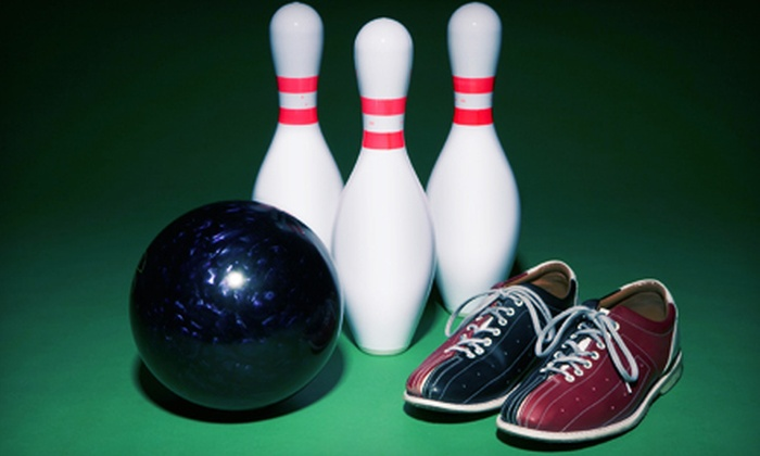 Kennedy Bowl - Dorset Park: One Hour of Bowling with Shoe Rental for Up to 6 or 12 at Kennedy Bowl (Up to 80% Off)