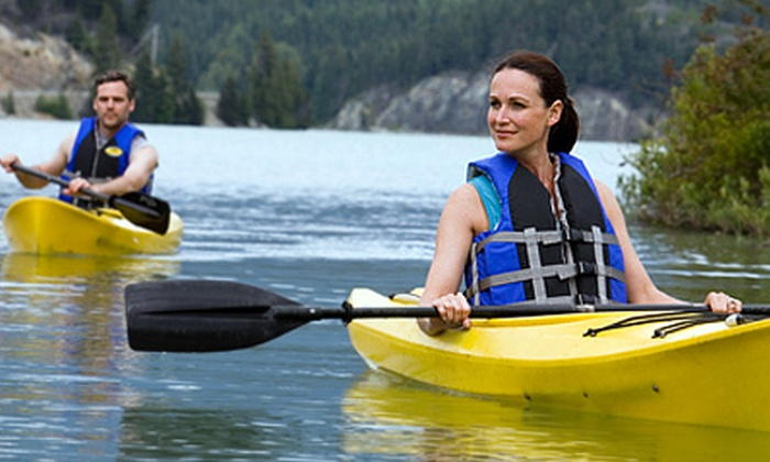 Harbour Challenge - Harbour Challenge OEC: Half-Day Kayaking For One (£19) or Two (£35) at Harbour Challenge OEC (Up to 56% Off)