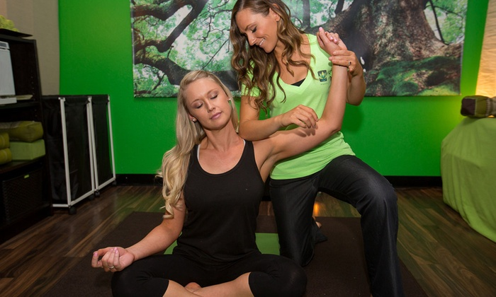 The Wellness Lounge - Kearny Mesa: 10 Yoga Classes, One Month of Yoga, or Four Yoga-Therapy Classes at The Wellness Lounge (Up to 70% Off)
