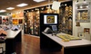 "Hall of Frames - Corporate - Multiple Locations: Custom Framing or a Framed 66""x40"" Mirror at Hall of Frames (Up to 67% Off). Three Options Available."