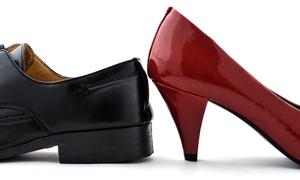 Berkley Shoe Repair: In-Store Shoe Repair at Berkley Shoe Repair (50% Off). Two Options Available.