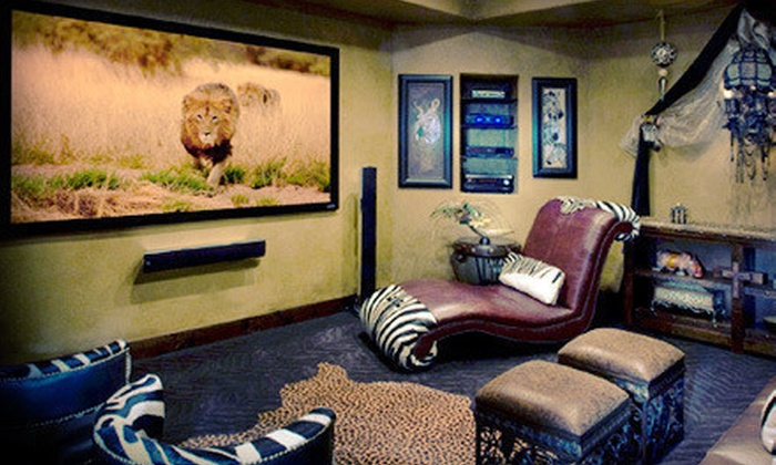Coming Attractions - Ann Arbor: Installation of Wall-Mount TV, Tabletop TV, or Basic Home Theater from Coming Attractions (Up to 65% Off)