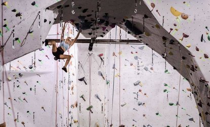 image for Intro to <strong>Climbing</strong> Class for One or Two People at The Stronghold <strong>Climbing</strong> Gym (Up to 56% Off)