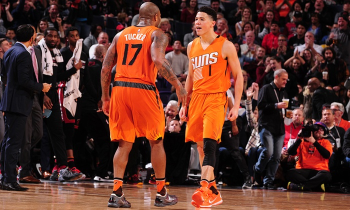 Phoenix Suns - Talking Stick Resort Arena: Phoenix Suns Game with Window Cling on February 2, 4, or 6