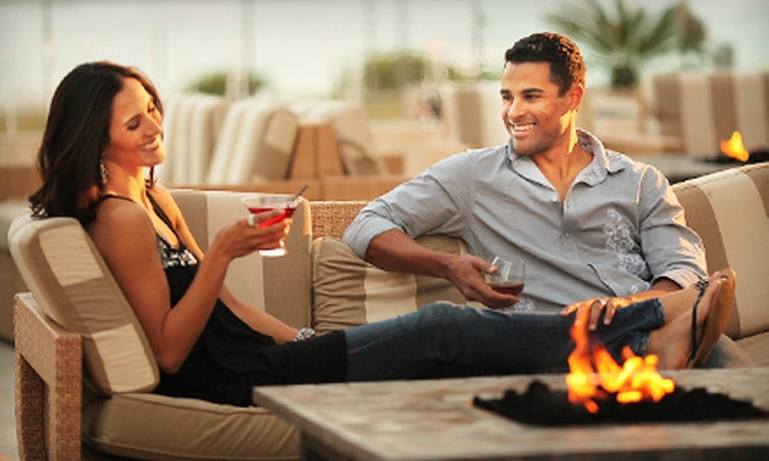 Deco Blue Restaurant & Bar - Miami Beach, FL: $25 for $50 Worth of Contemporary American Fare and Drinks at Deco Blue Restaurant & Bar in Miami Beach