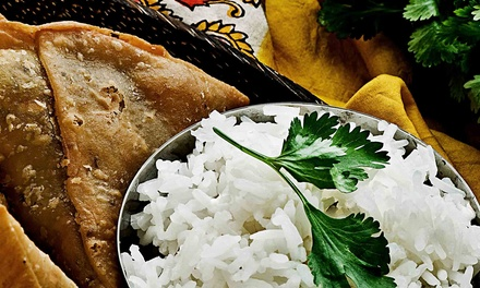 Indian Buffet for Two During Lunch or Dinner at Indian Hut (Up to 44% Off)
