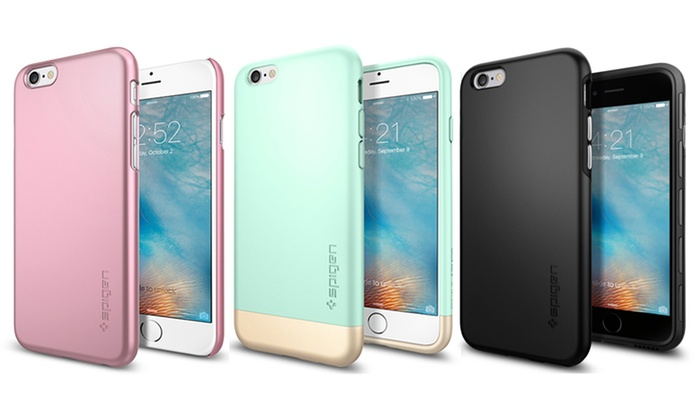 best service 4d9bc fa0e0 Spigen Style Armor and Thin Fit Case for iPhone 6/6s | Groupon