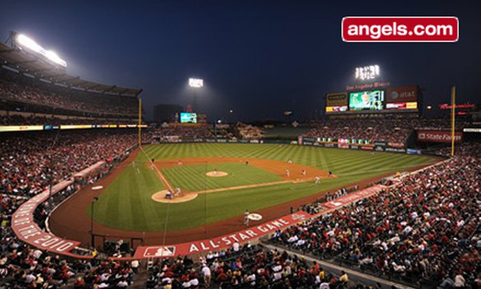 Los Angeles Angels - Angel Stadium of Anaheim: Los Angeles Angels of Anaheim MLB Game at Angel Stadium of Anaheim (Up to 48% Off). Eight Options Available.