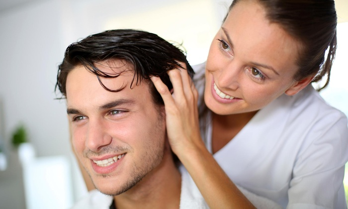 Evolution 'Aire Salon - Webster: Itchy-Scalp and Dandruff Treatment from Evolution 'Aire (54% Off)