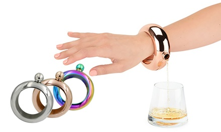 One, Two or Three Women's Bracelet Flasks
