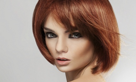 Haircut, Shampoo, and Style with Single-Process Color or Highlights at Salon Revive (Up to 36% Off)
