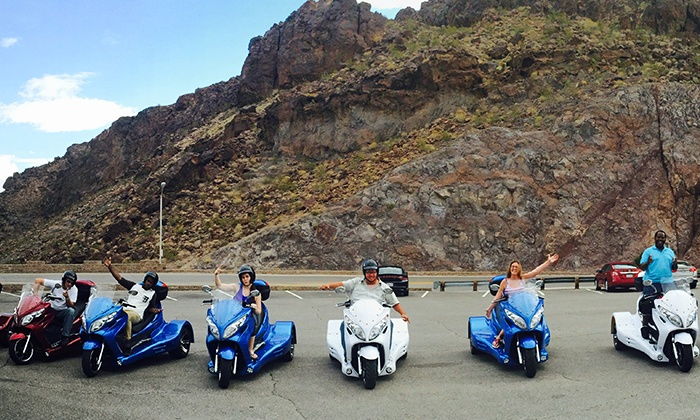 Hoover Dam Trike Tour - Vegas Trike Adventures: $125 for a Hoover Dam Trike Tour for Two from Vegas Trike Adventures ($350 Value)