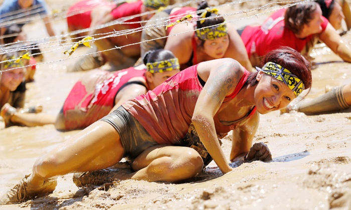 """Mud Factor - Hobb's Grove: Entry for one Adult or Child to """"Seriously Fun"""" Mud & Obstacle Run or KIDZ Family Wave by Mud Factor (Up to 66% Off)"""