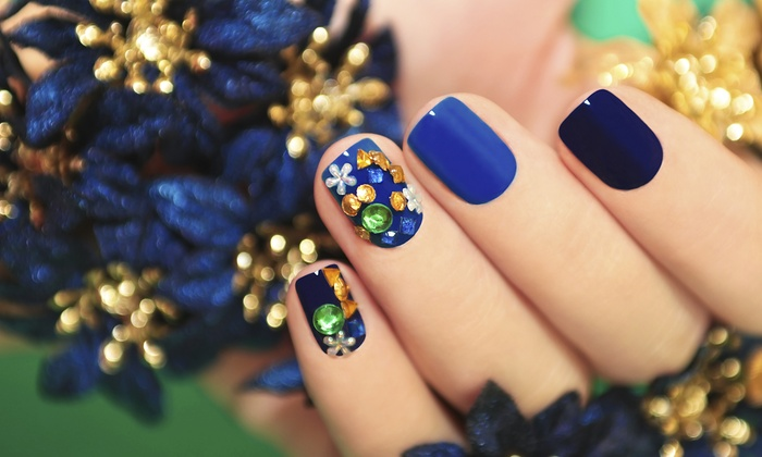 Gless Nails Spa - Park Towne: Shellac Manicure with Option for Spa Pedicure at Gless Nails Spa (Up to 54% Off)