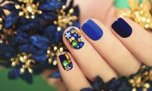 Jessica Booth at Strands Salon: Shellac Manicure, Spa or Gel Manicure and Pedicure at Strands Salon (Up to 44% Off)