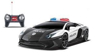 Voiture RC Police Lamborghini