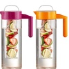 Hydra Flavor 64-oz. Glass Pitcher with Infuser, Chiller, and Strainer