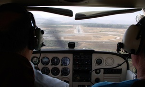 Bautismo de vuelo para una persona a elegir entre 20 o 40 minutos con briefing desde 69,90 € en Aeronáutico 2000