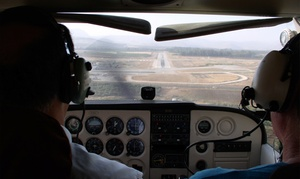 Genesis Flight Academy: 90-Minute Flight Lesson or Six Weeks of Ground Instruction at Genesis Flight Academy (Up to 46% Off)