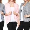 Women's Dolman-Sleeve Draped Open-Front Cardigans