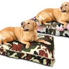 US Army Camo-Print Pet Bed