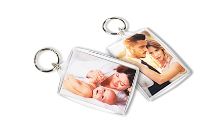 Personalised Key Ring: One $6, Two $10, Three $14 or Four $18 Don't Pay up to $39.80