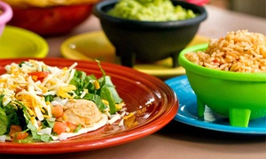 Mexican Café : Tacos, Burritos, and Margaritas at Mexican Café (Up to 45% Off). Three Options Available.