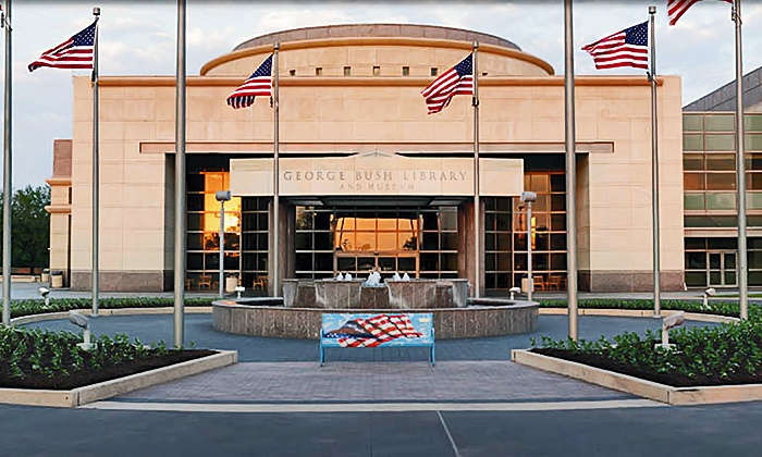George H.W. Bush Presidential Library and Museum - George H.W. Bush Presidential Library: Admission for Two or Four at the George H.W. Bush Presidential Library and Museum (44% Off)