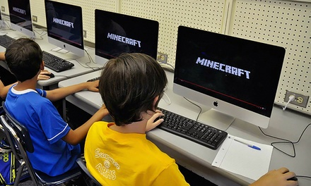 Coding With Minecraft Youth Summer Camp at Camp Crusader  (56% Off). Four Options Available.