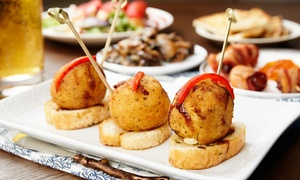 ZURITOS BY PIPER: Menu spagnolo con bocadillos e zuritos di birra o di sangria per 2 o 4 persone da Zuritos by Piper (sconto fino a 63%)