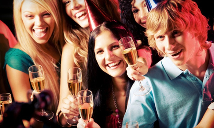 The Drunken Fish - Multiple Locations: Open Bar New Year's Eve Party for One or Two at The Drunken Fish (Up to 55% Off)