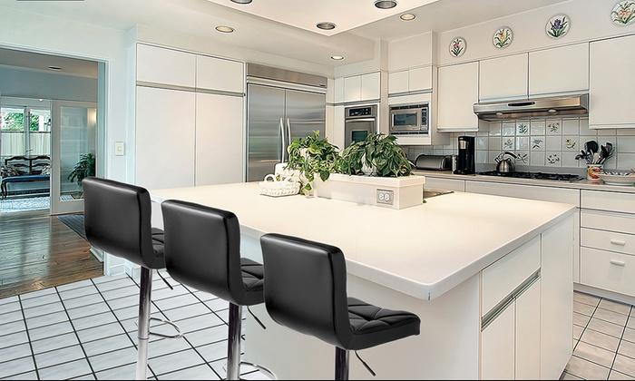 moni tabouret de bar pivotant groupon. Black Bedroom Furniture Sets. Home Design Ideas